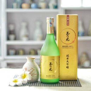 Rượu Sake Tamanohikari Junmai Daiginjo Bizen Omachi