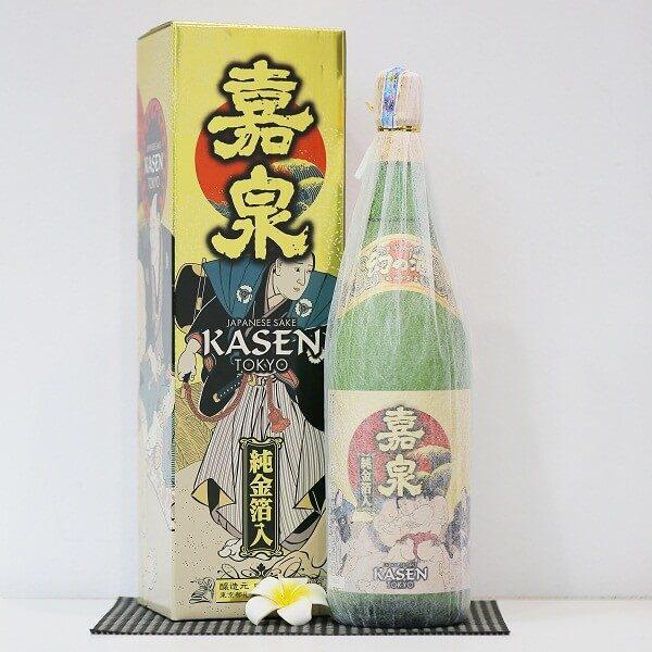 Tamura shuzojo kasen regular gold sake (1)