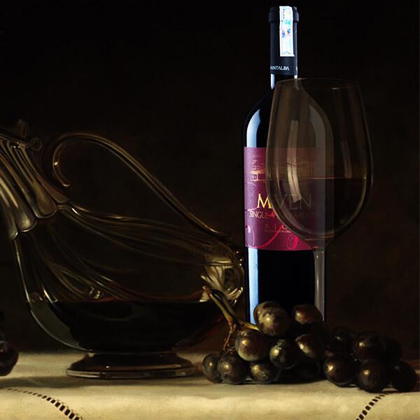 Vang Tây Ban Nha Mven Single Vineyard 2008 - Rượu ngoại chính hãng